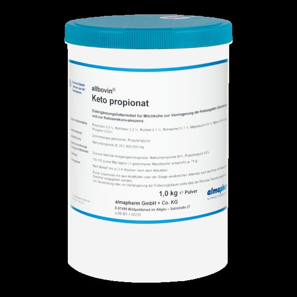 almapharm rind milchkuh ketose allbovin keto propionat 1kg pulver dose nutrazeutika