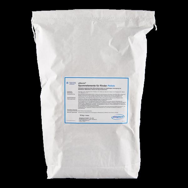 almapharm rind weidetiere milchkuehe faersen spurenelemente allbovin 15kg pellets sack nutrazeutika